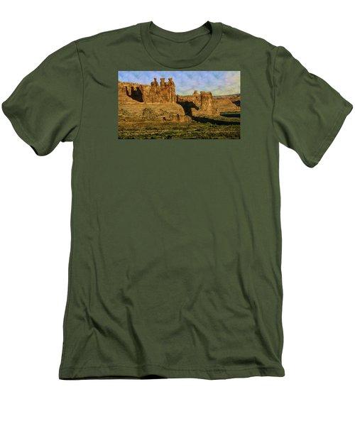 Arches Sunrise Men's T-Shirt (Athletic Fit)