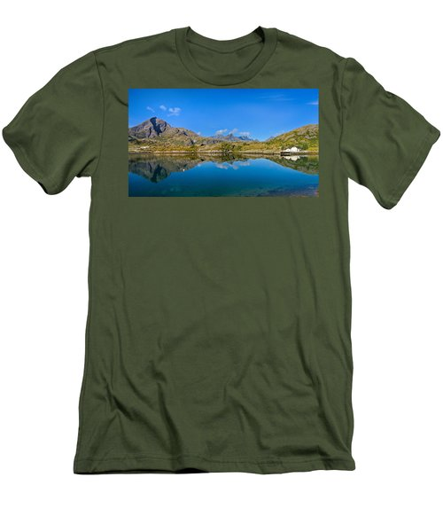 Arctic Reflections Men's T-Shirt (Slim Fit) by Maciej Markiewicz