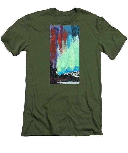 Arise Men's T-Shirt (Slim Fit) by Nathan Rhoads
