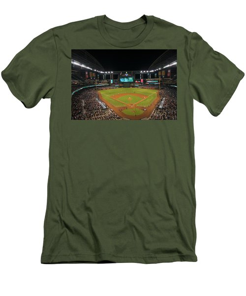 Arizona Diamondbacks Baseball 2639 Men's T-Shirt (Athletic Fit)
