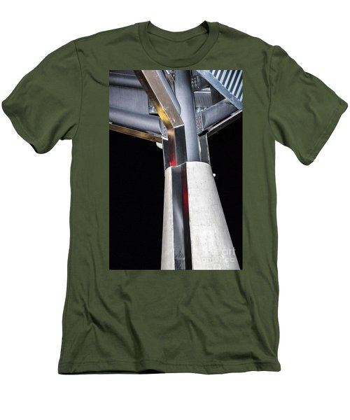 Art Center Roof Support Men's T-Shirt (Athletic Fit)
