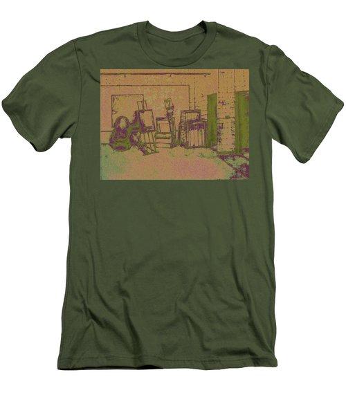 Art Intro Mixed Media Men's T-Shirt (Athletic Fit)