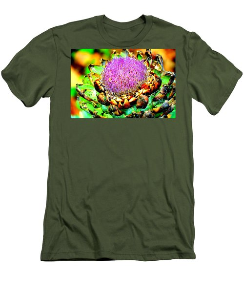 Artichoke Going To Seed  Men's T-Shirt (Athletic Fit)