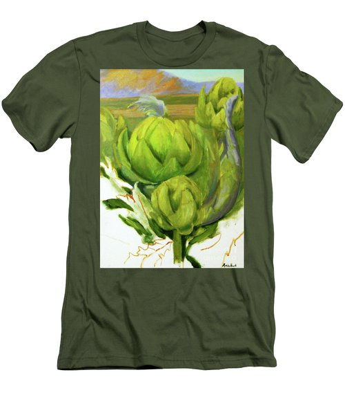 Artichoke  Unfinished Men's T-Shirt (Athletic Fit)
