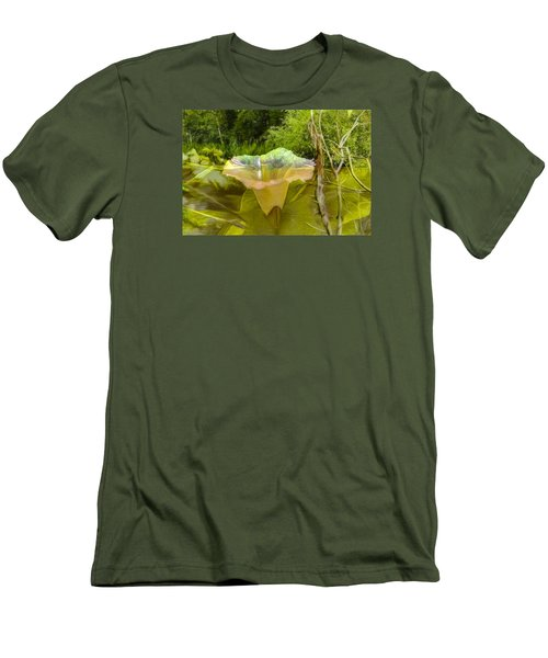 Artistic Double Men's T-Shirt (Slim Fit) by Leif Sohlman