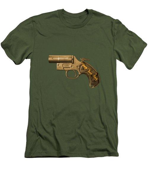 Gunmetal Men's T-Shirt (Athletic Fit)
