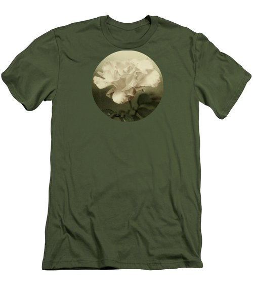 Faded Rose Men's T-Shirt (Slim Fit) by Mary Wolf