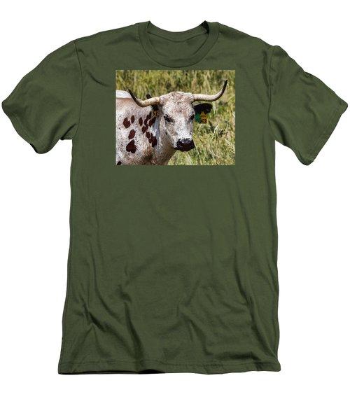Call Me Spot Men's T-Shirt (Slim Fit) by Bill Kesler