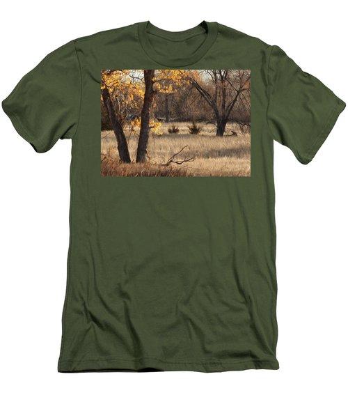 Shades Of Autumn Men's T-Shirt (Slim Fit) by Bill Kesler