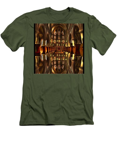As Above So Below Men's T-Shirt (Athletic Fit)