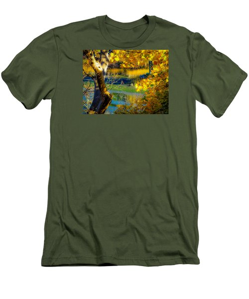 As Fall Leaves Men's T-Shirt (Slim Fit) by Glenn Feron