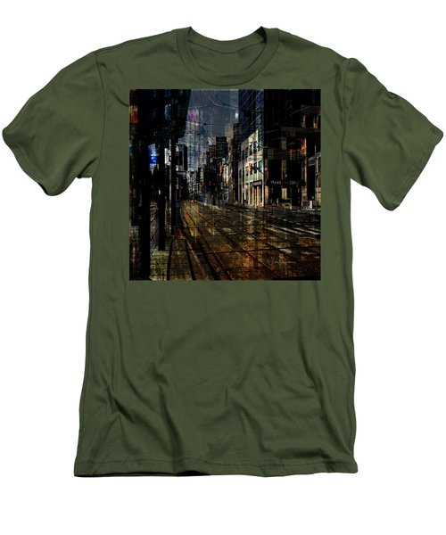 As The Sun Goes Down Men's T-Shirt (Slim Fit) by Nicky Jameson