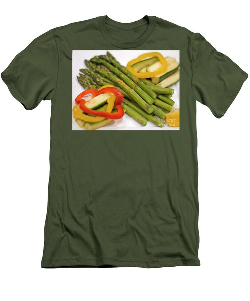 Asparagus Men's T-Shirt (Slim Fit)