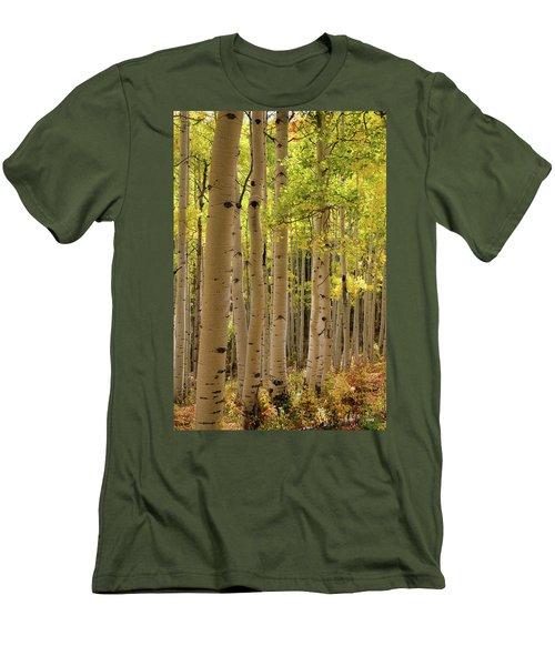 Aspen Grove Men's T-Shirt (Slim Fit) by Dana Sohr