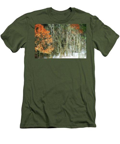 Aspens And Color Men's T-Shirt (Athletic Fit)