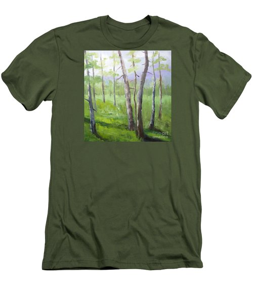 Aspens Soaring Men's T-Shirt (Slim Fit)