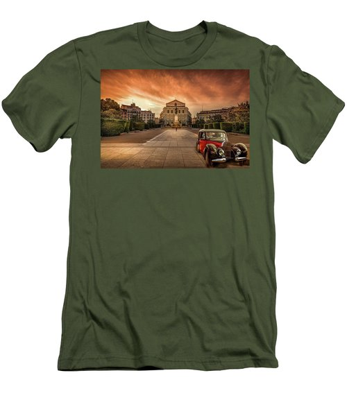 Assignation Men's T-Shirt (Slim Fit) by Marty Garland