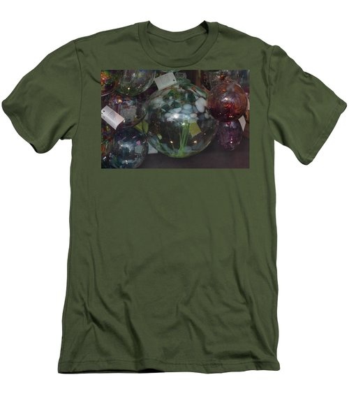 Assorted Witching Balls Men's T-Shirt (Slim Fit) by Suzanne Gaff