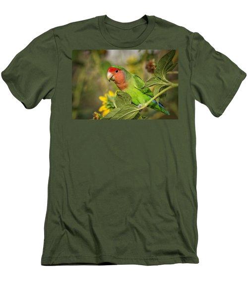 At The End Of The Rainbow  Men's T-Shirt (Slim Fit) by Saija  Lehtonen