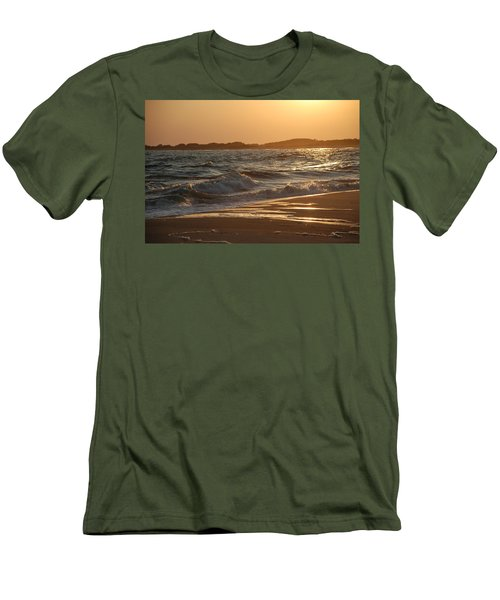 At The Golden Hour Men's T-Shirt (Slim Fit) by Richard Bryce and Family