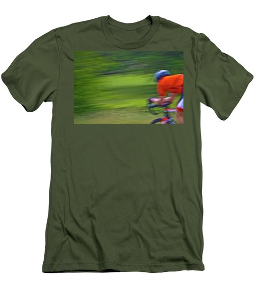 Men's T-Shirt (Slim Fit) featuring the photograph At The Speed Of Light by Linda Unger