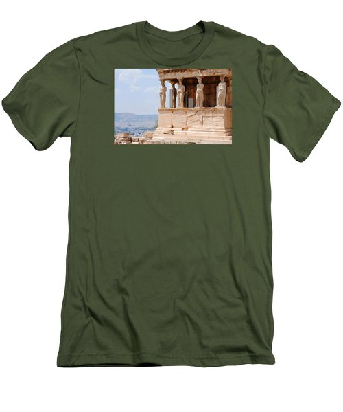 Erecthion Men's T-Shirt (Slim Fit) by Robert Moss