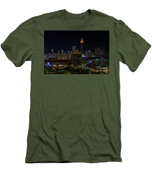 Atlanta Nights Men's T-Shirt (Athletic Fit)