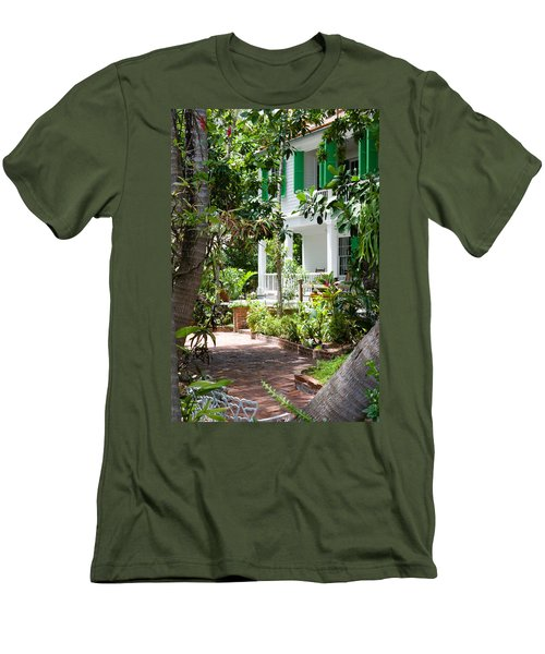 Audubon House Entranceway Men's T-Shirt (Athletic Fit)