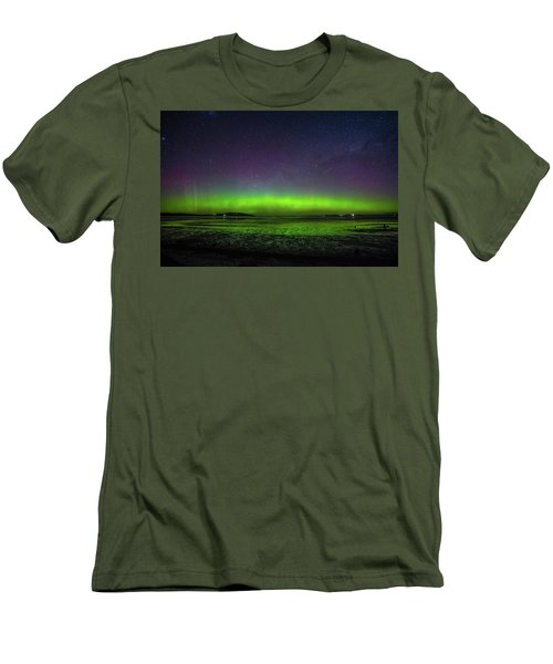 Men's T-Shirt (Slim Fit) featuring the photograph Aurora Australia by Odille Esmonde-Morgan