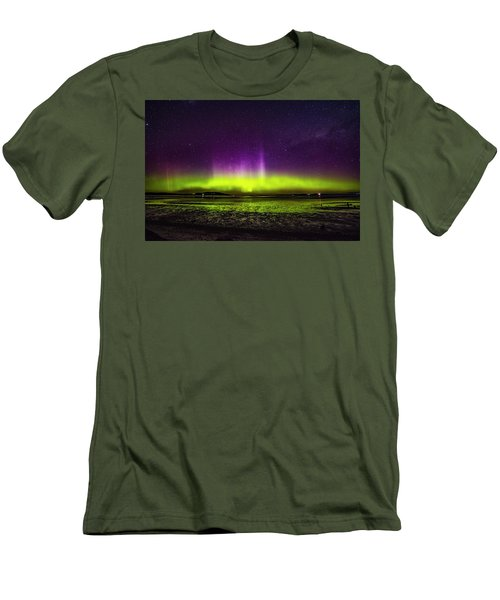 Aurora Australis Men's T-Shirt (Athletic Fit)