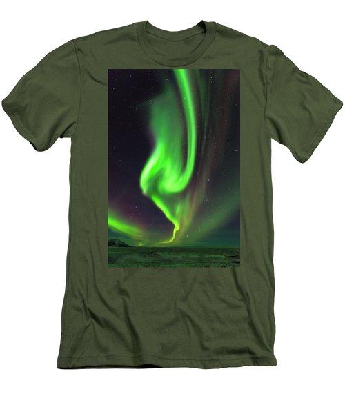 Aurora Burst Men's T-Shirt (Athletic Fit)