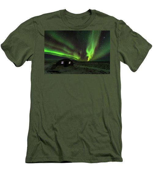 Aurora Storm Men's T-Shirt (Slim Fit) by Allen Biedrzycki