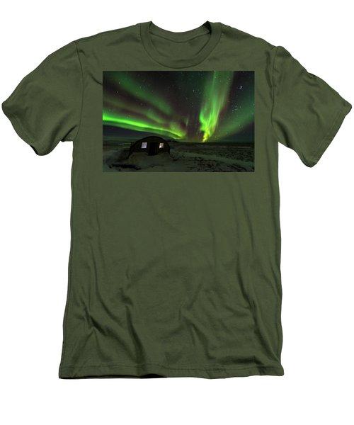 Aurora Storm Men's T-Shirt (Athletic Fit)