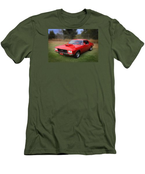 Men's T-Shirt (Slim Fit) featuring the photograph Aussie Muscle by Keith Hawley