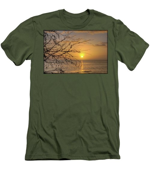Australian Sunrise Men's T-Shirt (Slim Fit) by Geraldine Alexander