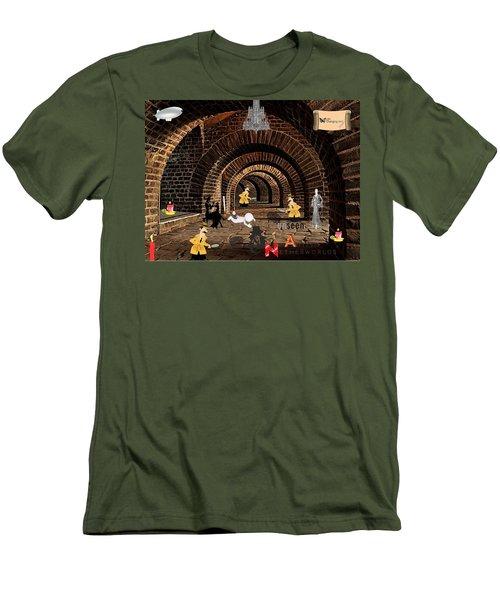 Autism Netherworlds Men's T-Shirt (Athletic Fit)