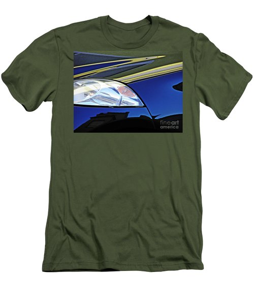Auto Headlight 190 Men's T-Shirt (Slim Fit) by Sarah Loft