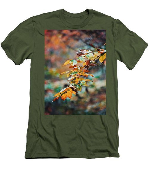 Men's T-Shirt (Slim Fit) featuring the photograph Autumn Aesthetics by Parker Cunningham