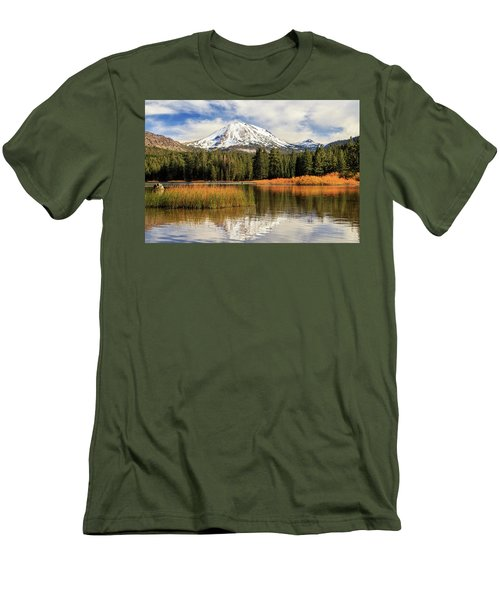 Autumn At Mount Lassen Men's T-Shirt (Slim Fit) by James Eddy