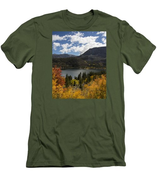 Autumn At Rock Creek Lake 2 Men's T-Shirt (Athletic Fit)