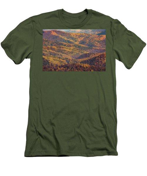 Autumn Blanket Men's T-Shirt (Athletic Fit)