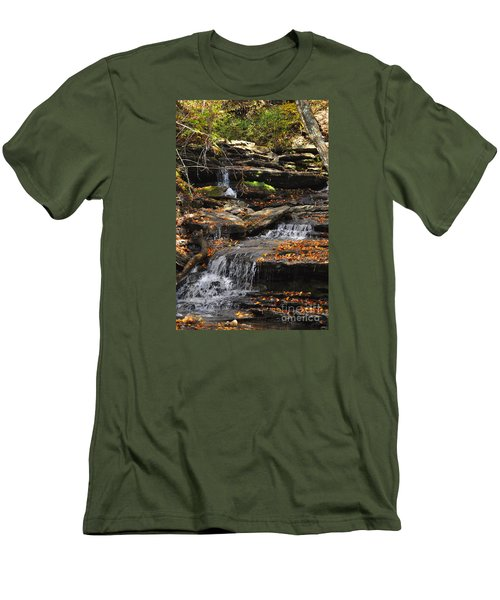 Autumn Brook Men's T-Shirt (Athletic Fit)