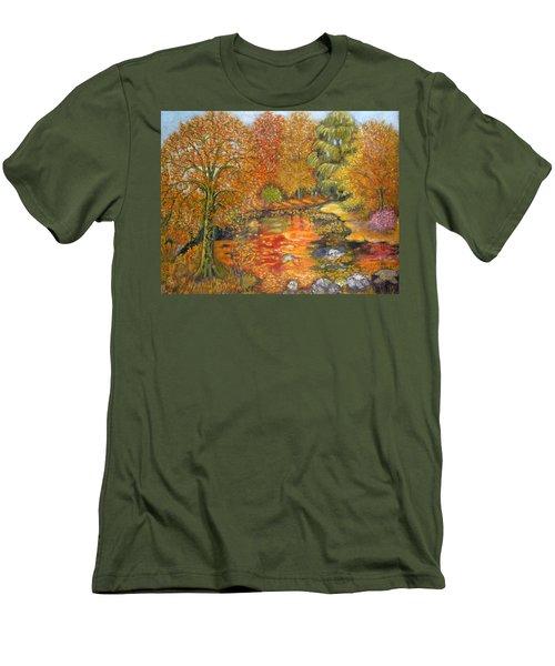 Autumn Colours Men's T-Shirt (Athletic Fit)
