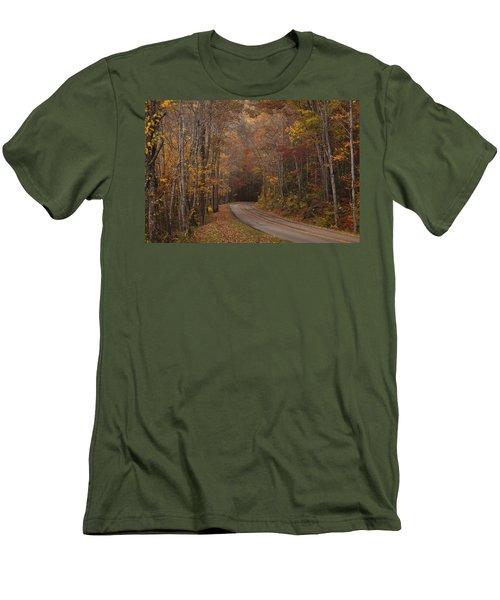 Autumn Drive Men's T-Shirt (Athletic Fit)