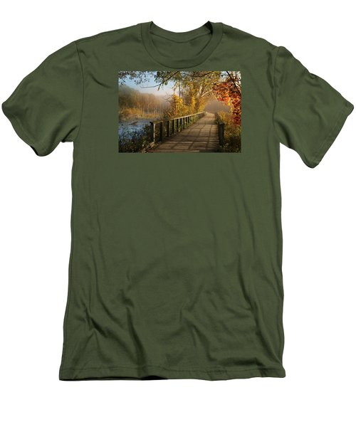 Autumn Emerging Men's T-Shirt (Athletic Fit)