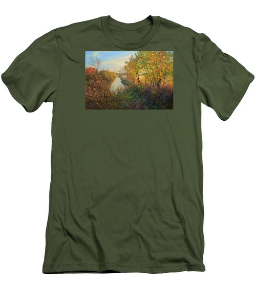 Autumn Evening Men's T-Shirt (Athletic Fit)