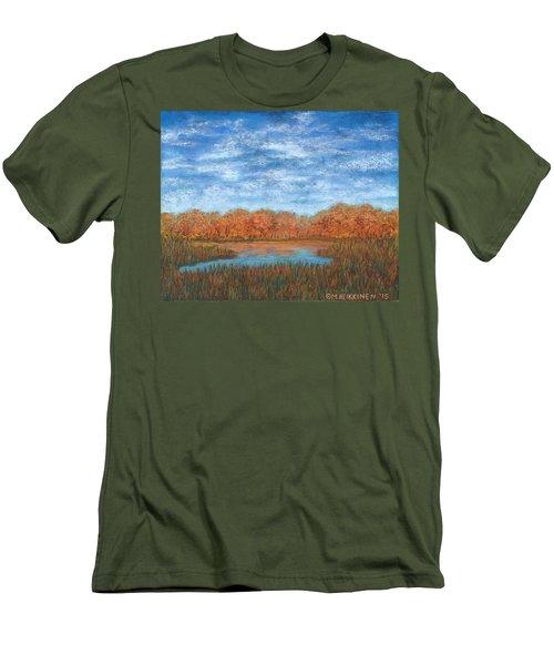 Autumn Field 01 Men's T-Shirt (Athletic Fit)