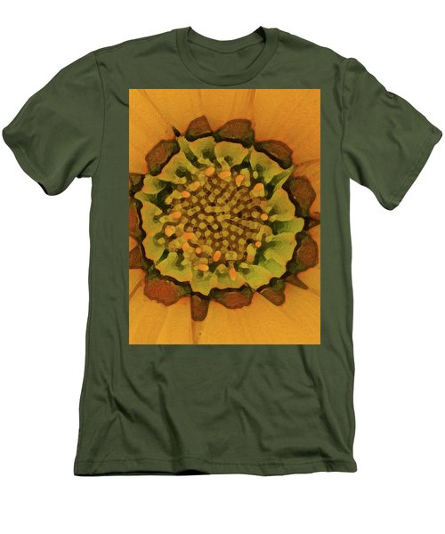 Autumn Flower Men's T-Shirt (Athletic Fit)