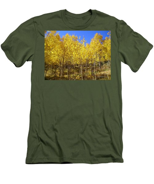 Autumn Gold Men's T-Shirt (Athletic Fit)