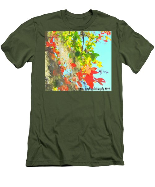 Autumn In Dixie  Men's T-Shirt (Athletic Fit)